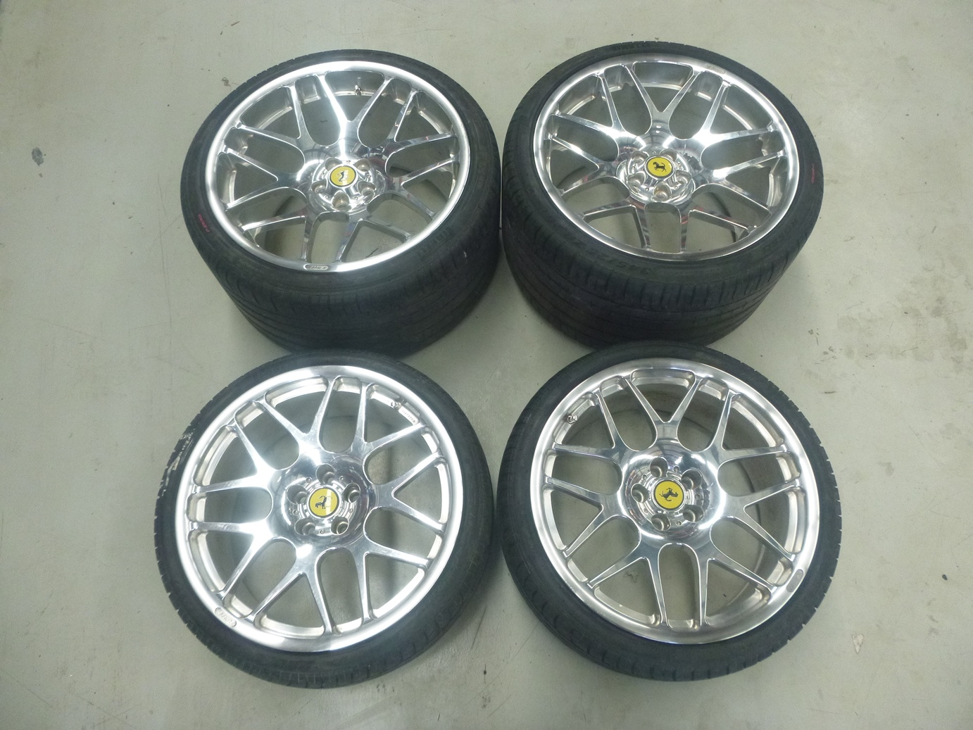 Ferrari-360-430-NEEZ-Forged-Alloy-Wheels-Rims-20-034-x-12-5-034-19-034-x-8-5-034-J051