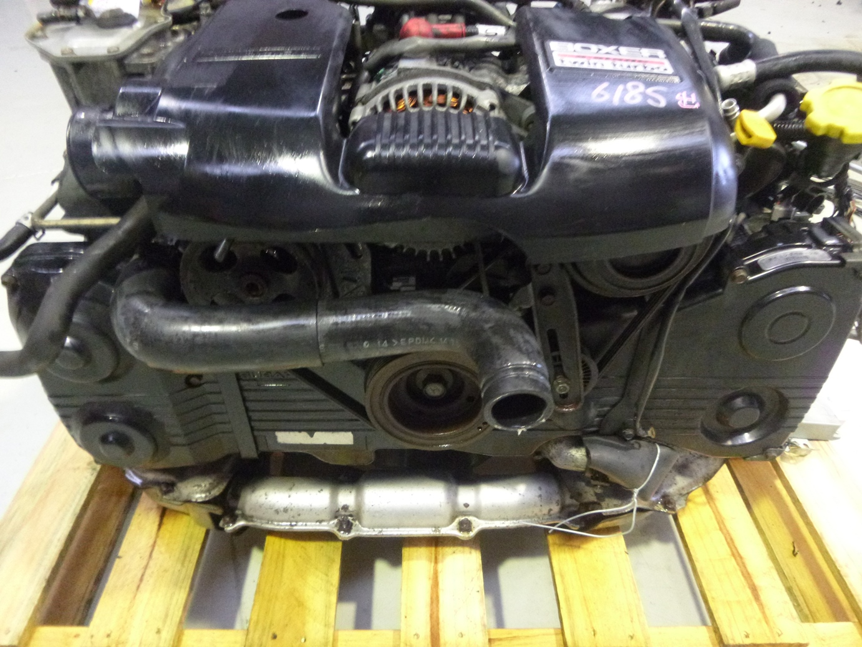 Subaru Legacy BH5 EJ20 Complete Twin Turbo Engine Motor ECU JDM
