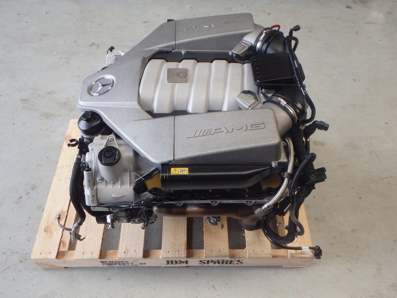 Mercedes benz c63 amg 2009 w204 6 2l m156 v8 complete for Mercedes benz v8 engine