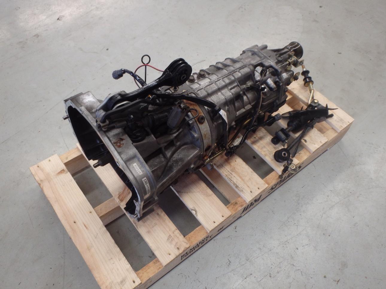 subaru forester sg9 sti 2004 6 speed manual transmission gearbox ty856wl4cc ebay. Black Bedroom Furniture Sets. Home Design Ideas